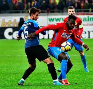 Suspendare drastica pentru golgheterul FCSB dupa eliminarea de la derbiul cu Viitorul