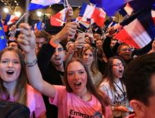 Sustinatori Macron alegeri
