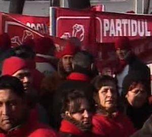 Sustinatorii lui Oprea din Ilfov au protestat in Kiseleff (Video)
