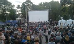 Sute de clujeni la concertul in aer liber cu piese din coloane sonore celebre