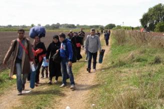 Sute de imigranti au trecut frontiera ungaro-austriaca pe jos