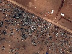 Sute de masini abandonate la granita siriano-turca: situatia orasului Kobani ramane incerta