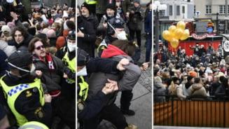 Sute de persoane din Suedia au protestat fata de restrictii, pe fondul pandemiei de COVID-19