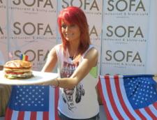 Sylvia, rasfat de 4.000 de calorii intr-o zi (Galerie foto)