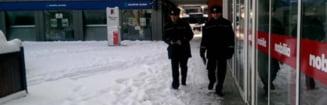 TARGOVISTE: Politia Locala aplica amenzi celor care nu curata zapada