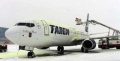 TAROM suspenda zborurile spre si dinspre Marea Britanie incepand de luni seara. Anuntul companiei referitor la cursele programate