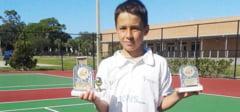 TENIS: Vlad Breazu, campion national la U14