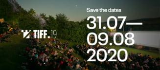 TIFF revine! Festivalul va avea loc intre 31 iulie si 9 august 2020