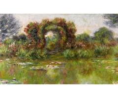 Tablouri de Claude Monet scoase la licitatie