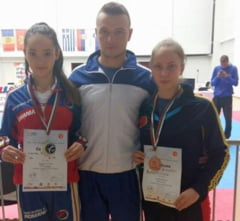 Taekwondo: Liana Mustata si Denisa Zinveliu, medalii la balcaniada!