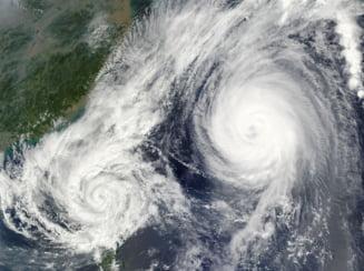 Taifunul Hagibis a lasat in urma doi morti si zeci de raniti