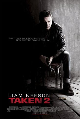 Taken 2 conduce in box office - vezi top 10 filme ale momentului (Video)