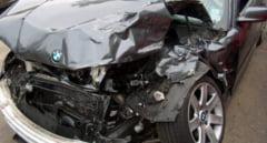 Tanar cu BMW, implicat intr-un accident cu un autobuz din Targu Mures. Ce au descoperit politistii cand au facut cercetari