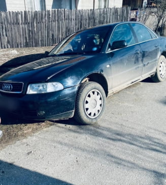 Tanar de 20 de ani prins conducand fara permis o masina furata din curtea Spitalului Judetean Valcea. Barbatul era cercetat pentru fraude cu carduri bancare