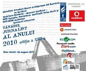 Tanarul Jurnalist al Anului 2010 - inscrie-te la concurs!