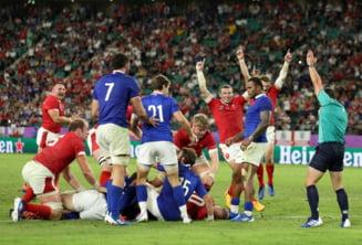 Tara Galilor se califica dramatic in semifinalele CM de rugby, dupa un meci de 5 stele cu Franta
