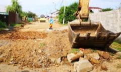 Targoviste: Se lucreaza intens pentru modernizarea infrastructurii din cartierul Prepeleac