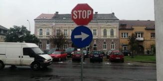 Targu Mures: Reguli noi de circulatie pe strada Stefan cel Mare