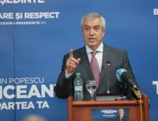 Tariceanu: Basescu ar trebui suspendat si pentru ca a luat masa cu Udrea