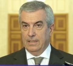 """Tariceanu, atac dur la Iohannis: Protest fata de politica """"pumnului in gura"""""""