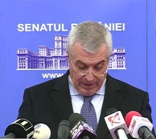 Tariceanu, despre referendum: Dictatorul discuta direct cu poporul, peste capul Parlamentului