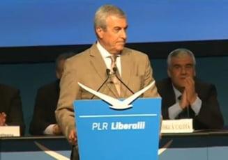 Tariceanu, la congresul noului sau partid: PNL a murit. Noi suntem adevaratul partid de dreapta!