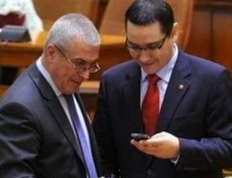 Tariceanu a discutat cu Ponta la Guvern. Dean Thomson, prezent la Palatul Victoria