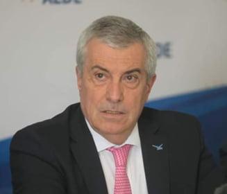 Tariceanu a votat doar pentru europarlamentare, nu si pentru referendum: Participarea numeroasa ma bucura