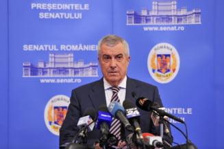 Tariceanu ataca dur Comisia Europeana in fata sefilor Senatelor din Europa reuniti la Bucuresti