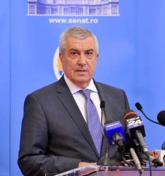 """Tariceanu mai vrea o comisie care sa ancheteze """"statul paralel"""" si ii invita pe magistrati sa spuna ce stiu, fiindca nu vor avea """"de suferit"""""""