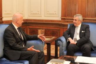 Tariceanu s-a intalnit cu ambasadorul Germaniei si au vorbit despre Legile Justitiei