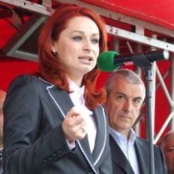 Tariceanu s-a plimbat cu o candidata roscata prin Fetesti
