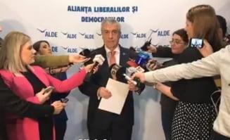 Tariceanu se rupe de PSD la europarlamentare: Norica Nicolai, Daniel Barbu si Renate Weber deschid lista ALDE (Video)