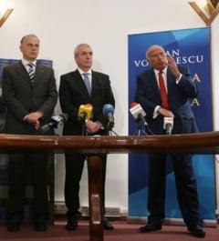 Tariceanu si Geoana, prezenti la lansarea cartii lui Voiculescu
