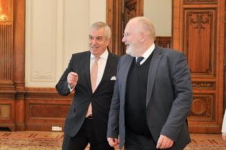 Tariceanu spune ca turneul lui Timmermans i-a adus aminte de comunism si de vizitele lui Ceausescu