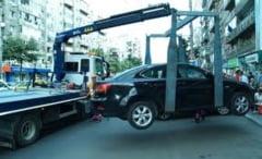 Tarifele de ridicare a masinilor parcate ilegal, reduse cu 40% in sectorul 2
