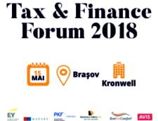 Tax & Finance Forum - Brasov: Specialistii in fiscalitate analizeaza ultimele modificari legislative si prezinta standardele de raportare financiara internationala