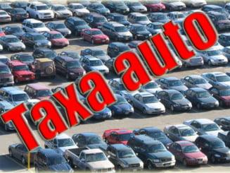 Taxa auto creste pentru masinile uzate