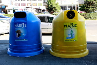 Taxa de salubrizare va creste, pentru ca romanii refuza sa selecteze gunoiul