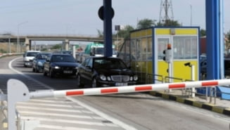 Taxa de trecere a podului de la Fetesti va putea fi platita si prin SMS sau in benzinarii (Video)