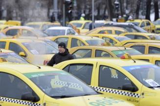 Taximestristii ameninta, din nou, cu proteste: Daca dati lege pentru Uber, miercuri aducem 5.000 de masini in Piata Victoriei!
