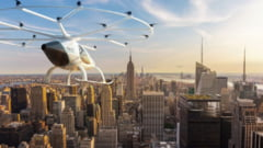 Taxiul SF desprins din filme e mai aproape de realitate. Zboara peste blocuri si te scapa de aglomeratie