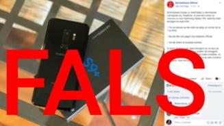 Teapa viral de pe Internetul romanesc. Pagina falsa in numele Vodafone ofera un telefon gratis