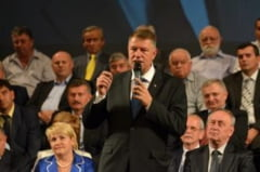 Teatrul oradean, plin-ochi la intalnirea cu Klaus Iohannis. Directiva lui Vasile Blaga: castigarea prezidentialelor din primul tur