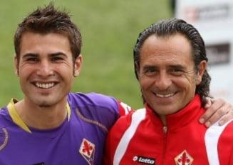 """Tehnicianul Cesare Prandelli revine la Fiorentina dupa 10 ani. L-a antrenat pe Adi Mutu in perioada de glorie a """"Briliantului"""""""