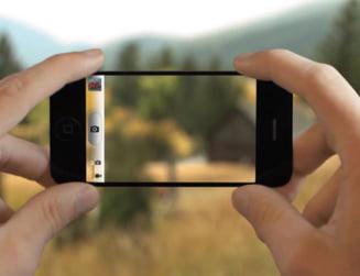 Telefon incredibil, cu ecran transparent, ideea unui tanar de 17 ani (Video)