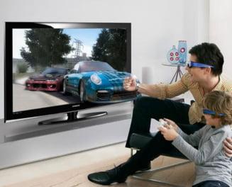 Televizoare 3D, din aprilie, in Romania