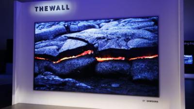 Televizorul cat un perete a fost anuntat si e fix pentru casele milionarilor