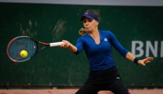 Tenis: Irina Bara a fost eliminata de Kenin in turul trei la Roland Garros