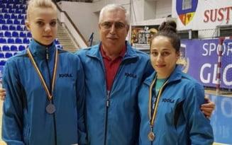 Tenis de masa. Adina Diaconu si Irina Ciobanu, campioanele Romaniei. Au castigat proba de dublu fete VIDEO